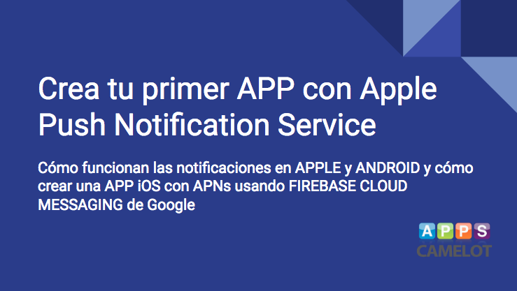 programación de APPS con Notificaciones Push APNs