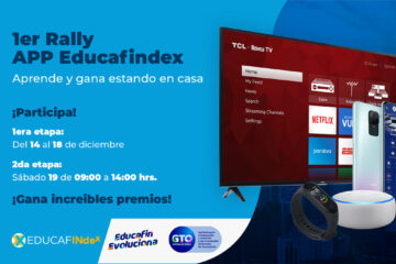 Primer rally app educafindex educafin evoluciona